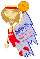Slam Dunk Jesus by whysoawesome