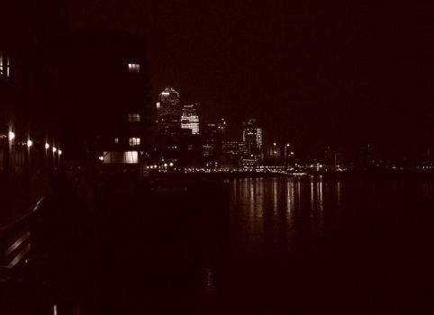The City At Night by FishFingers