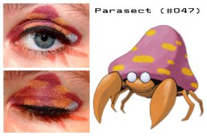 Pokemakeup 047 Parasect by nazzara