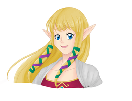 Zelda-Skyward Sword- Color by ChaosSoda