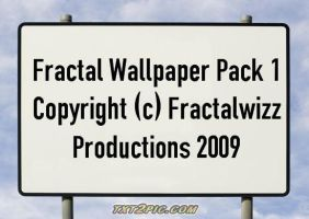 Fractal Wallpaper Pack 1 by DeepZoom