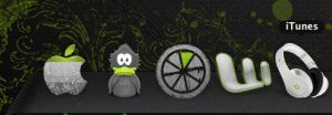 black green dock icons 2 by mushyppeaz