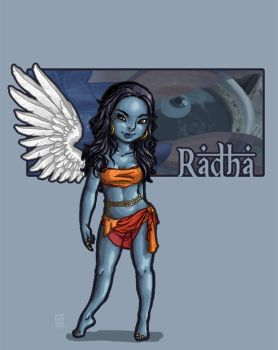Radha by RecoveringZombie