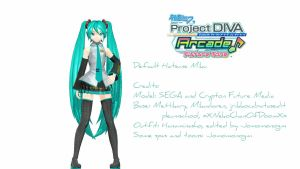 .:: (PDAFT-Style) Default Miku ::. by jrikkocabatasedit