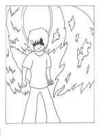 angel of death no color by DA-Lover