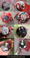 Pocket Mirrors by meluseena