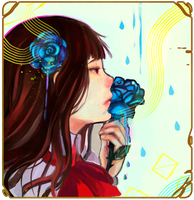 Blue Rose by Liennintan