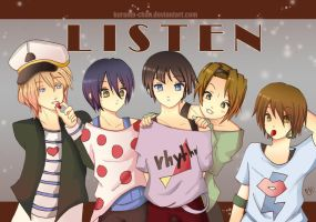 -- K-on Genderbend: Listen -- by Kurama-chan