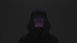 Tali - From the darkness look by SlipperyHammer