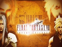 Final Fantasy VII Wallpaper by Hyflyer