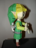 Spirit Tracks Link Papercraft. by BrunoPigh