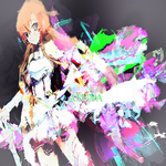 Anime Signature - SAO Asuna by NlGHTFIRE