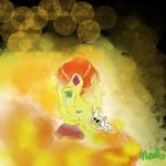 Flame Princess- Burning Out by Peadge