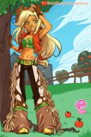 Applejack by SatraThai