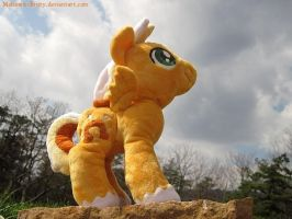 More Sun Runner plushie by MohawkMax
