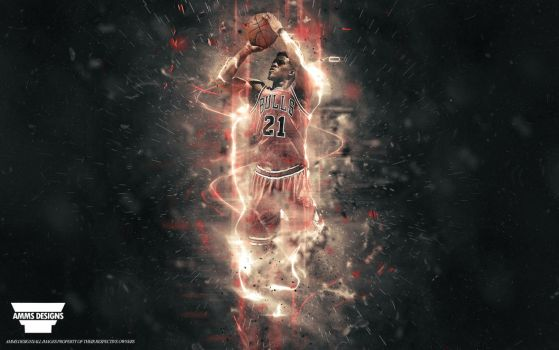 Jimmy Butler Wallpaper by AMMSDesings