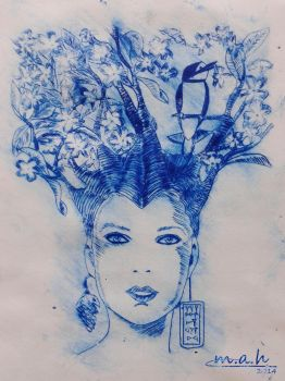 Dry Point by S-M-A-H