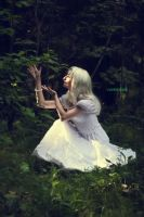Light fairy in the woods 5 by VAMPIdor
