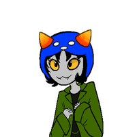 Nepeta Talksprite 1 by MelNathea
