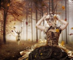 Autumn Lady by PriscillaSantana