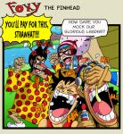 Foxy the Pinhead by mightyfilm