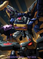 Galaxy Force Soundwave by REX-203