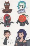Haunted Library OC drawings by Deterex525
