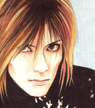 Kaoru -- Colored Pencils by spiderlady