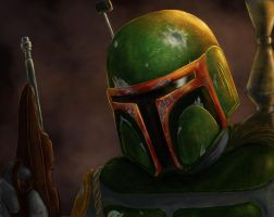 The Fett Man by thesadpencil