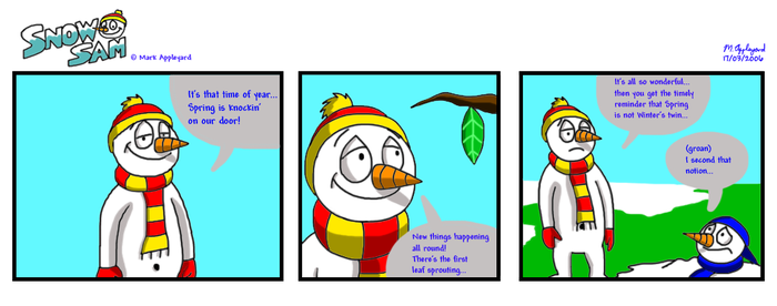 Snow Sam Comic 11 by BluebottleFlyer