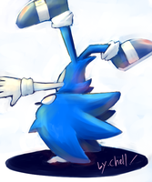 blue spin by chellchell