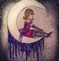 Hey Moon, Please Forget to Fall Down by baetakids