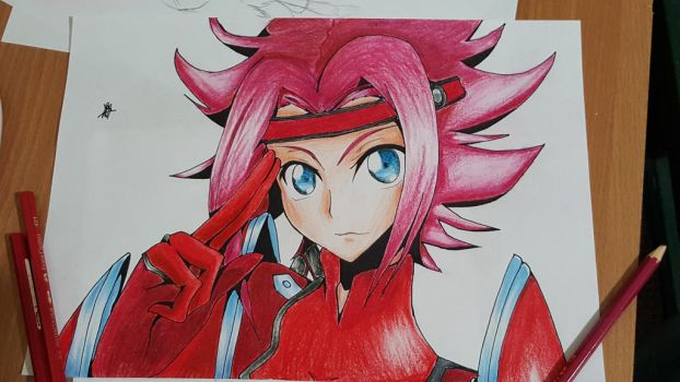 Kallen Kozuki colored by lily1119