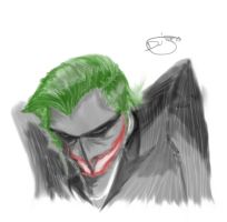 Joker sketch by Furrysketch