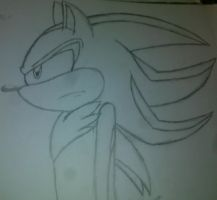shadow the hedgehog (gift for shadowmaker12) by burnt-sonic