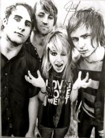 Paramore Drawing by ParaguayDraw