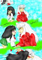 Inuyasha Shortie Colored by poe76