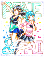 Pene and Ai by Colorful--Melody