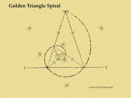 The Golden Triangle Spiral by elektronika7