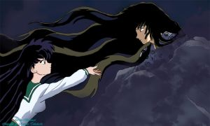 Kagome and Naraku take me away by Illuminasi