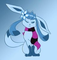 Glaceon! by SoftieLocks