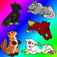 Puppy Adopts 1 -CLOSED- by Spice-Adopts