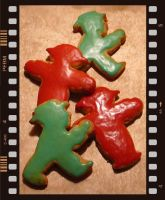 stoplight cookies I by spiralnudel