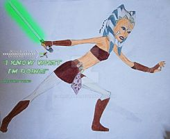 I Know What Im Doing-Ahsoka_Colored by Ahsoka114