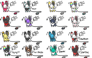 speaker mouse adopts! by FluffballAdopts