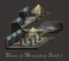 Ruins of Wisperdeep - Level 1 by Keleus