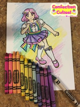 Crayola Confectionist: Purple Mountain's Majesty by Magical-Mama