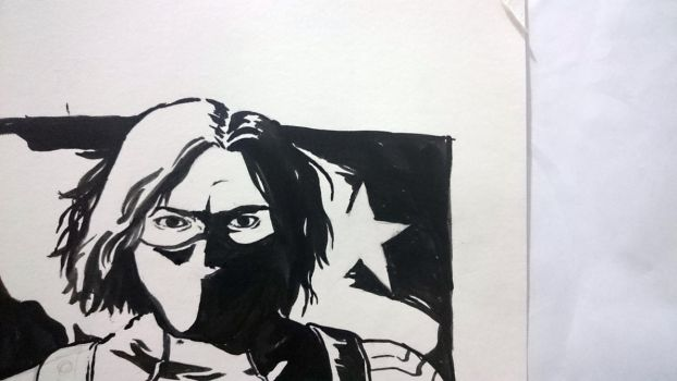 Winter Soldier by signorinacessi