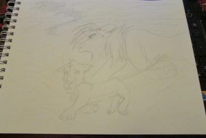 another drawing For  Nostalgic-Lioness by Heatherannpt