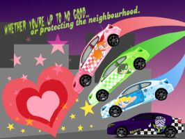 Crime Fighting Cars by pink-Mimi